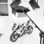 Photographing motorcycles at 360 degrees