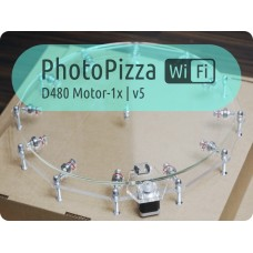 Turntable PhotoPizza D480-WiFi-Auto